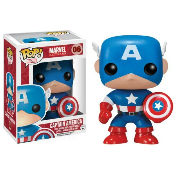 Funko Pop Marvel 06 Captain America