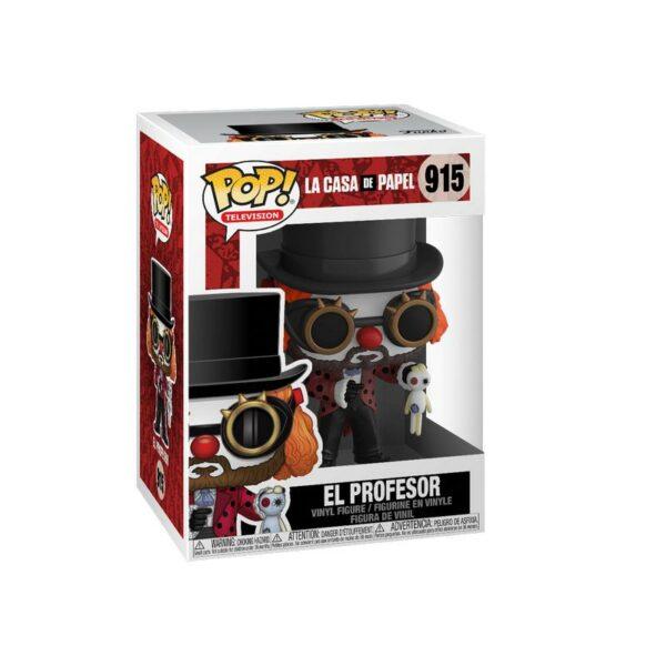 Funko Pop La Casa de Papel 915 El Profesor