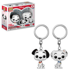 Pocket Pop keychain Disney Pongo & Perdita