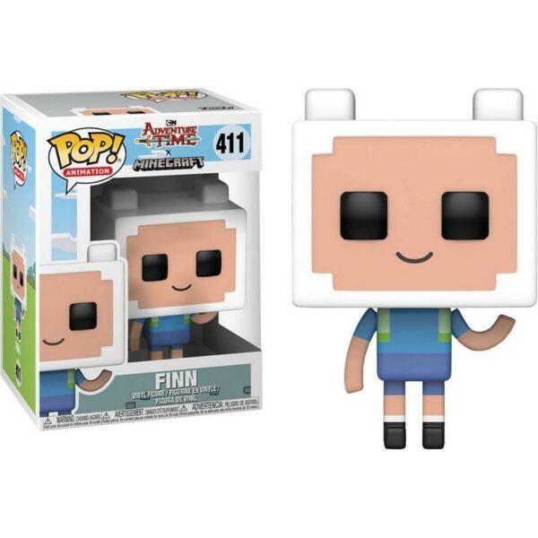 Figurine Pop Adventure Time x Minecraft 411 Finn Vaulted 1