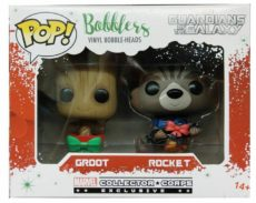 Funko Pop Bobblers Marvel Groot Rocket