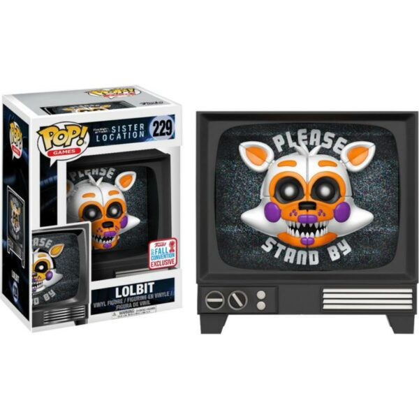 Funko Pop FNAF Sister Location 229 Lolbit (Not Mint) 1