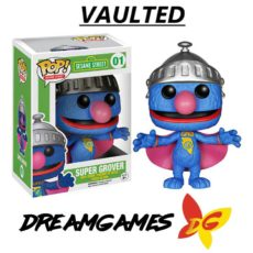 Figurine Pop 123 Sesame Street 01 Super Grover VAULTED
