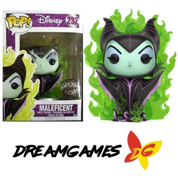 Figurine Pop Disney 232 Maleficent Flames Exclusive
