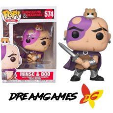 Figurine Pop Dungeons & Dragons 574 Minsc & Boo