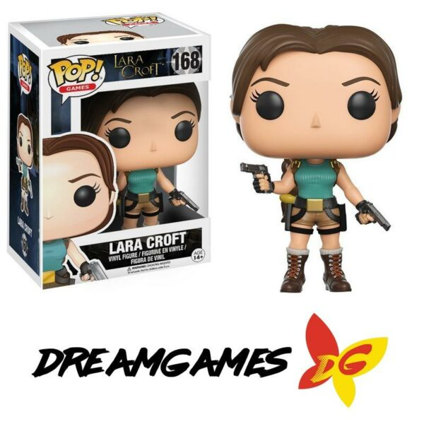 Figurine Pop Lara Croft 168 Lara Croft VAULTED