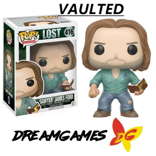 Figurine Pop Lost 416 Sawyer James Ford VAULTED