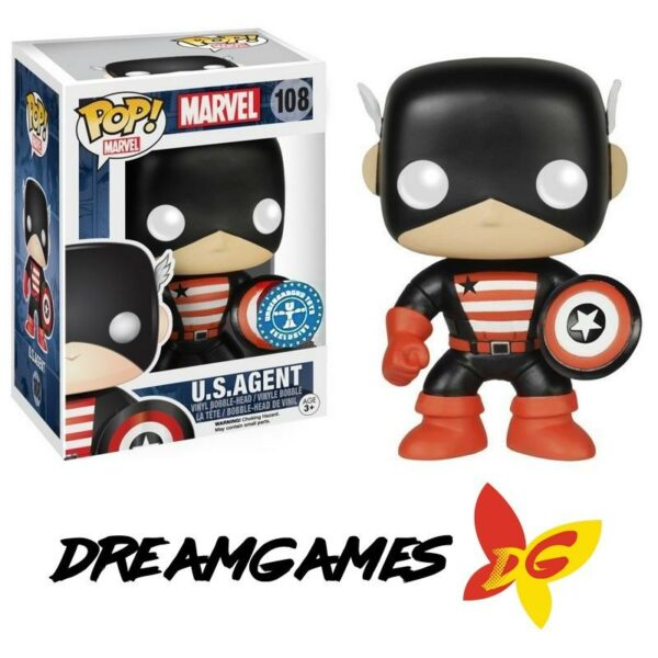 Figurine Pop Marvel 108 U.S.Agent Underground Toys Exclusive
