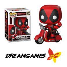 Figurine Pop Rides Deadpool 48 Deadpool on Scooter
