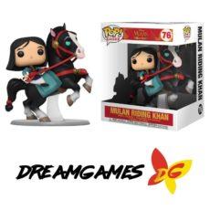 Figurine Pop Rides Disney Mulan 76 Mulan Riding Khan