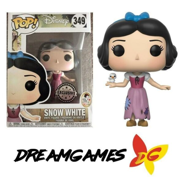 Figurine Pop Snow White 349 Snow White Maid Sticker Exclusive