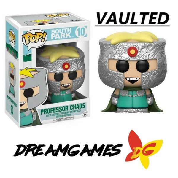Figurine Pop South Park 10 Professor Chaos VAULTED
