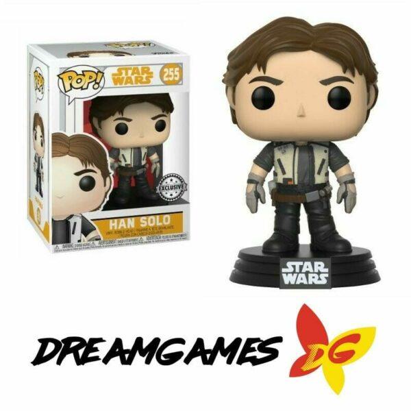 Figurine Pop Star Wars 255 Han Solo Exclusive