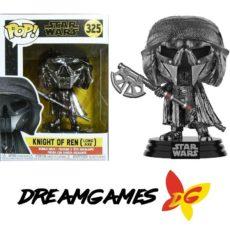 Figurine Pop Star Wars 325 Knight of Ren Long Axe Hematite Chrome