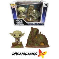 Figurine Pop Town Star Wars Empire Strikes Back 11 Dagobah Yoda with Hut
