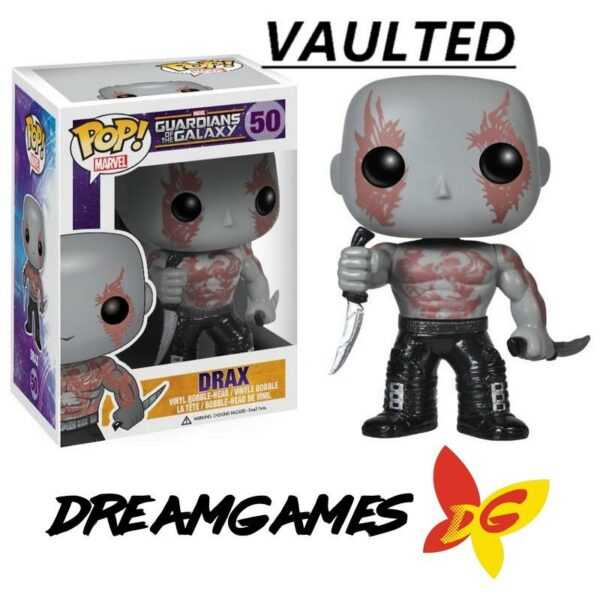 Figurine Pop Guardians of the Galaxy 50 Drax VAULTED