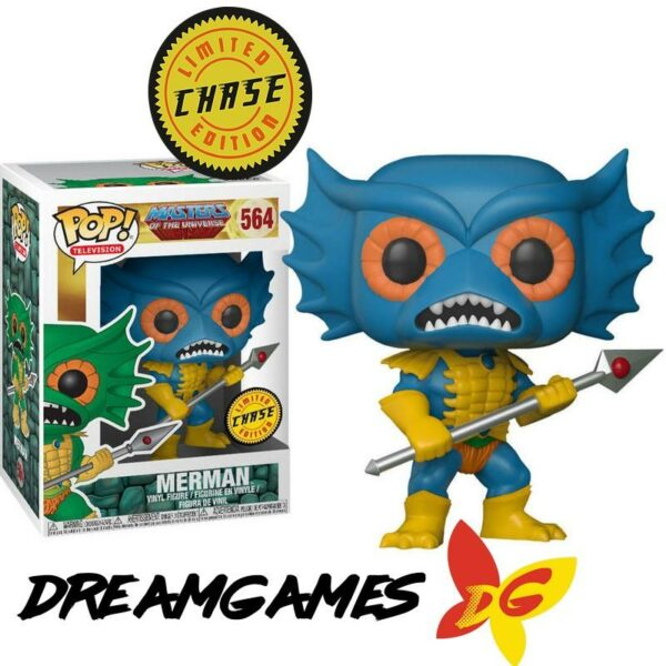 Figurine Pop MOTU 564 Merman CHASE