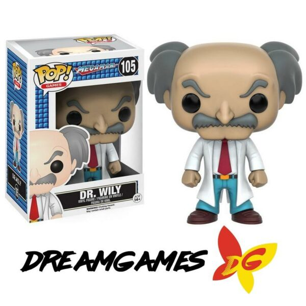 Figurine Pop Megaman 105 Dr Wily