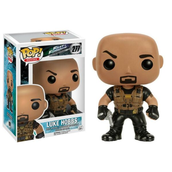 Figurine Pop Fast & Furious 277 Luke Hobbs VAULTED