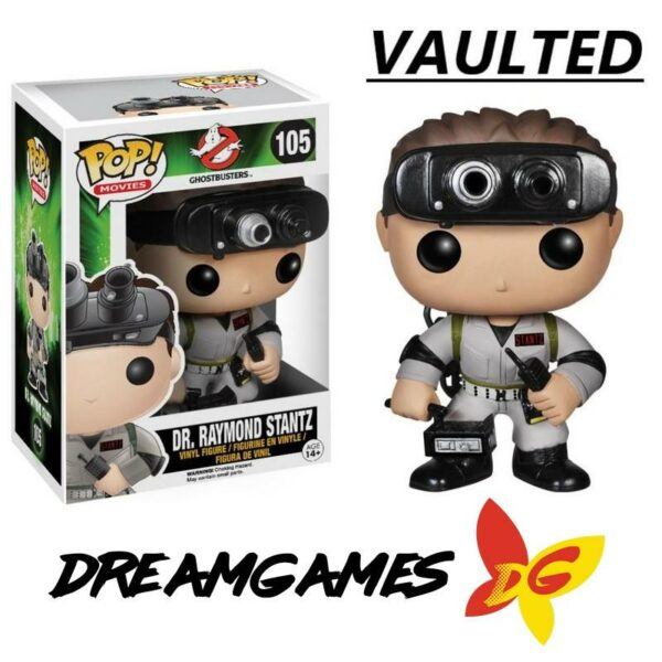 Figurine Pop Ghostbusters 105 Dr Raymond Stantz VAULTED