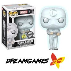 Figurine Pop Marvel 267 Moon Knight GITD