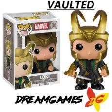 Figurine Pop Marvel 36 Loki VAULTED