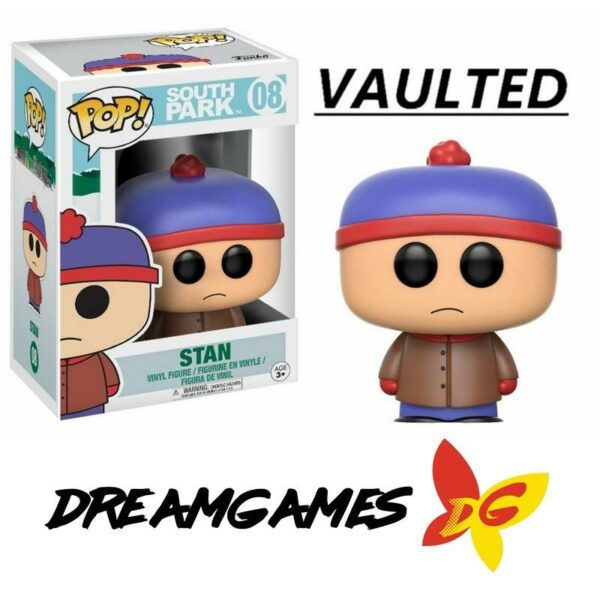 Figurine Pop South Park 08 Stan VAULTED