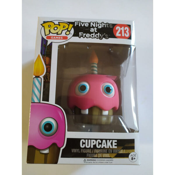 Figurine Pop Five Nights at Freddy's 213 Cupcake VAULTED Not Mint! 1
