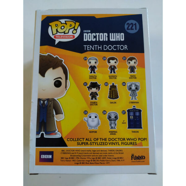 Figurine Pop Doctor Who 221 Tenth Doctor (Not mint) 2