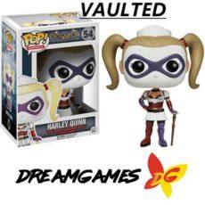 Figurine Pop Batman Arkham Asylum 54 Harley Quinn Nurse VAULTED