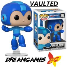 Figurine Pop Games Megaman 376 Mega Man Jumping VAULTED