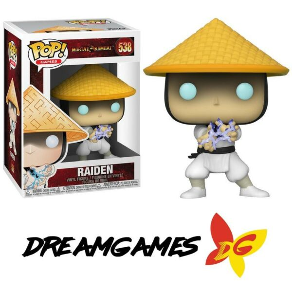 Figurine Pop Mortal Kombat 538 Raiden