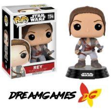 Figurine Pop Star Wars 114 Rey Final Scene Exclusive