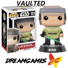 Figurine Pop Star Wars 123 Luke Skywalker Endor VAULTED