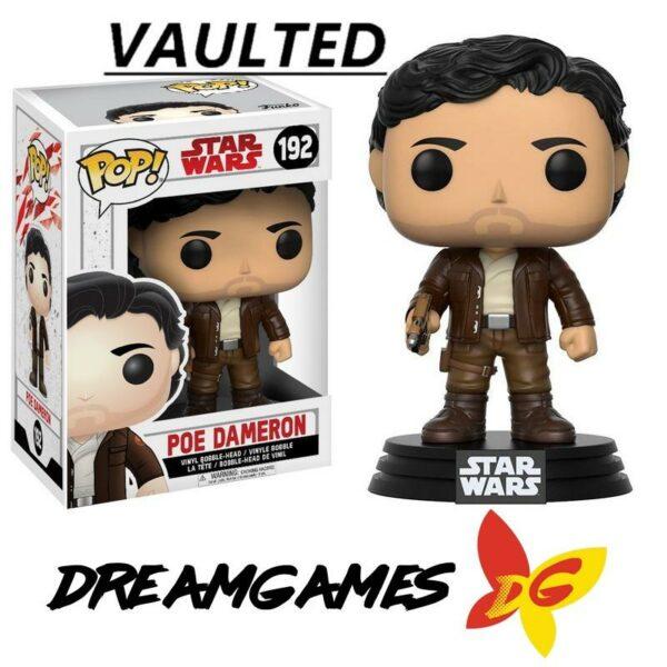Figurine Pop Star Wars 192 Poe Dameron VAULTED