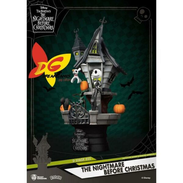 Diorama D-Stage The Nightmare before Christmas 035
