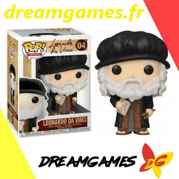 Figurine Pop Artists 04 Leonardo Da Vinci