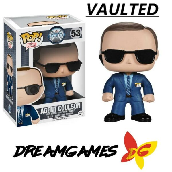 Figurine Pop Agents of SHIELD 53 Agent Coulson VAULTED