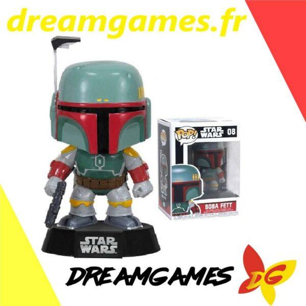 Figurine Pop Star Wars 08 Boba Fett 1