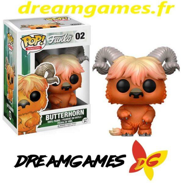 Figurine Pop Funko Monsters 02 Butterhorn 1