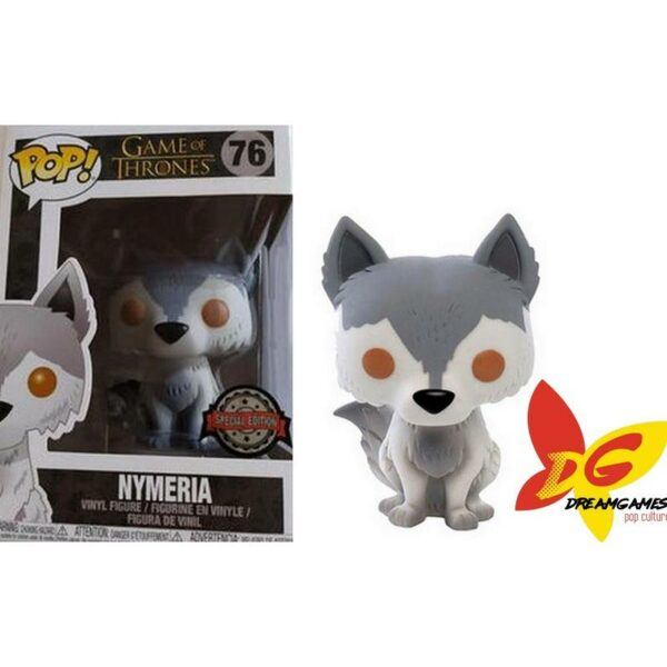 Figurine Pop Game of Thrones 76 Nymeria (Not Mint) 1