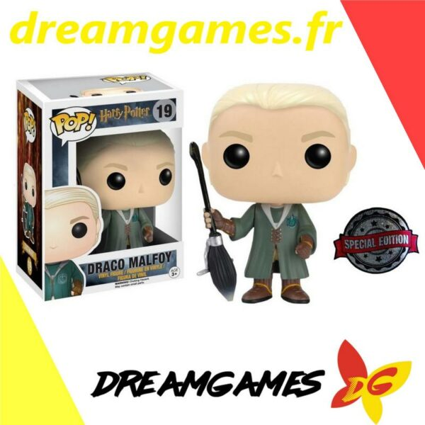 Figurine Pop Harry Potter 19 Draco Quidditch 1