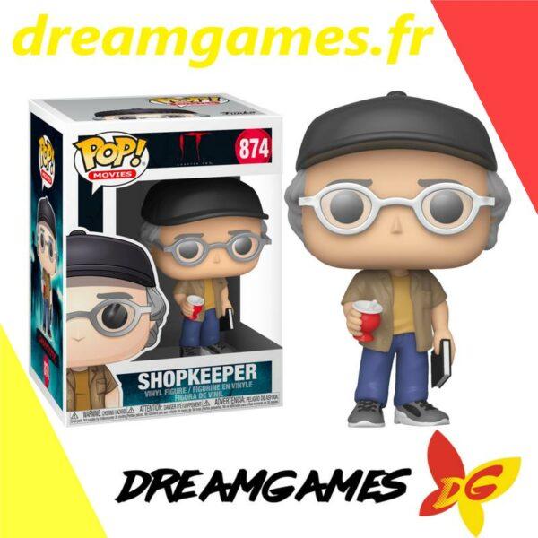 Figurine Pop It 874 Shopkeeper Stephen King