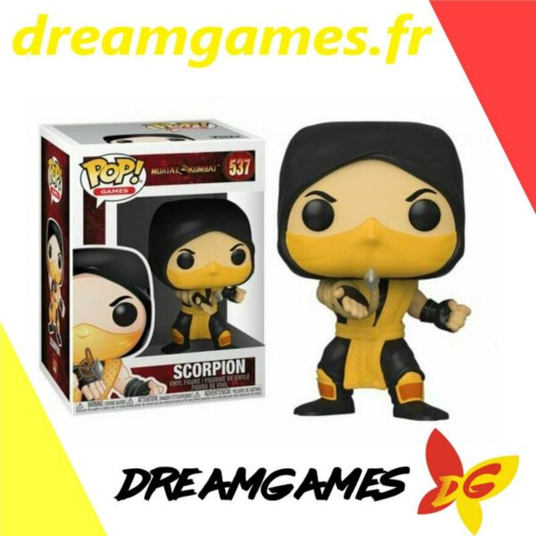 Figurine Pop Mortal Kombat 537 Scorpion