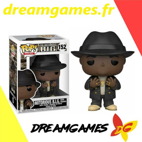 Figurine Pop Notorious BIG 152 with Fedora