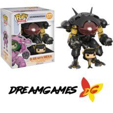 Figurine Pop Overwatch 177 D.VA with Meka Carbon fiber