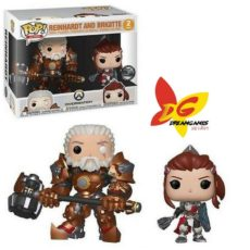 Figurines Pop Overwatch Reinhardt and Brigitte