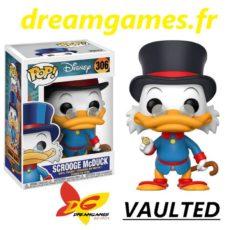 Figurine Pop Disney 306 Scrooge McDuck VAULTED
