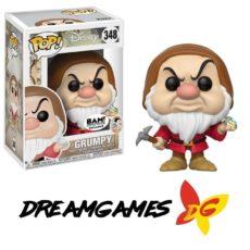 Figurine Pop Snow White 348 Grumpy BAM Exclusive