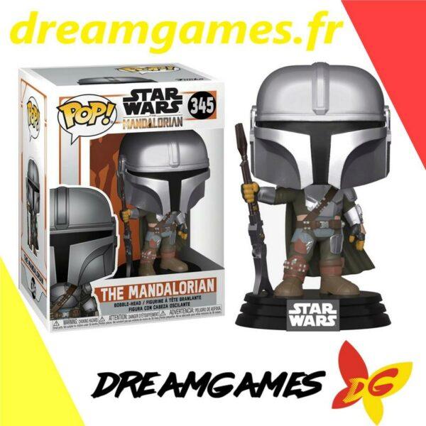 Figurine Pop Star Wars 345 The Mandalorian